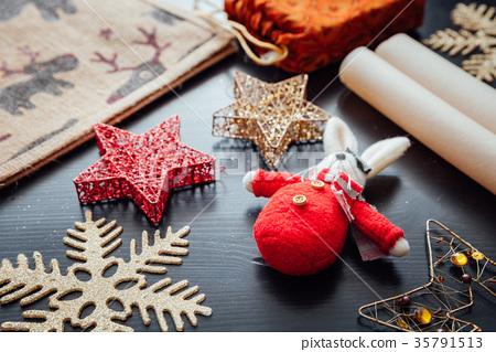 Christmas holiday decorations 35791513