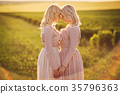twins in the field 35796363