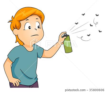 Kid Boy Spray Insecticide 35800606