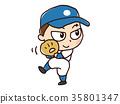 เบสบอล,กีฬาเบสบอล,พิทเชอร์ คนขว้างลูก 35801347