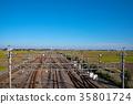 rural scene, rural landscape, railway 35801724