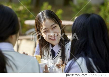친구,고등학생,음식 35802789