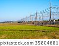 railway, country, countryside 35804681
