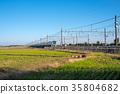 electric train, train, rail 35804682