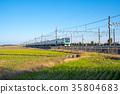 electric train, train, rail 35804683