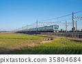 electric train, train, rail 35804684