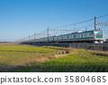 electric train, train, rail 35804685