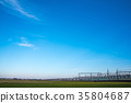 전차, 전철, 푸른 하늘 35804687
