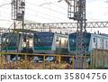 electric train, train, rail 35804756