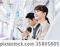 商務女子火車攝影合作 - 京王電鐵有限公司 35805605