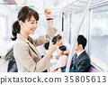 商務女子火車攝影合作 - 京王電鐵有限公司 35805613
