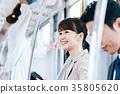 商務女子火車攝影合作 - 京王電鐵有限公司 35805620