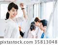 年輕女性火車攝影合作·京王電鐵有限公司 35813048