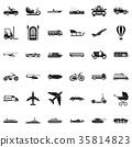 transport icon simple 35814823