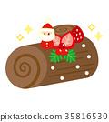 尤爾日誌 蛋糕 聖誕蛋糕 35816530