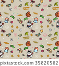 year of the dog, pattern, dog 35820582