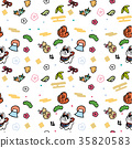 year of the dog, pattern, dog 35820583