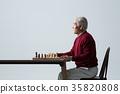 노인, 한국인, 남자 35820808