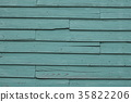 Blue paint wall 35822206