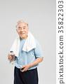 노인, 한국인, 여유 35822303