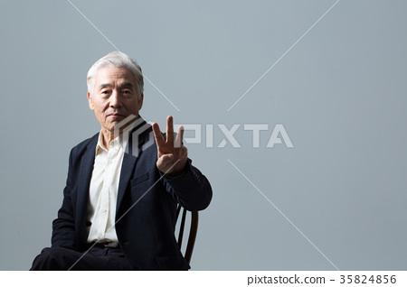 건강한 노인의 포트레이트 35824856