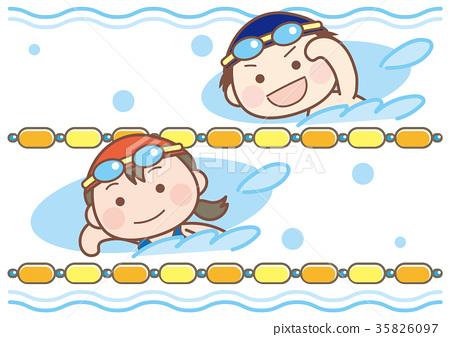 游泳 男生 男 35826097