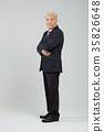 건강한 노인의 포트레이트 35826648