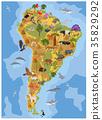 South, America, flora 35829292
