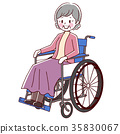 vector, vectors, Wheel Chair 35830067