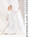 新娘 裙子 女人 35830093