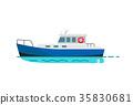 船 旅行 快艇 35830681