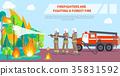 火 解雇 森林 35831592