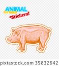动物 猪 矢量 35832942