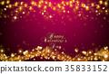Elegant Valentine Background 35833152