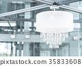 white chandelier 35833608
