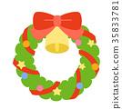 크리스마스리스 35833781