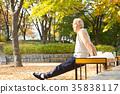 운동하는 노인, 건강한 노후생활 35838117