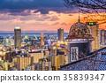 Kobe, Japan Skyline 35839347