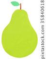 잘라 그림 과일 배 서양 배 서양 배 35840618