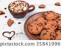 cookie, cookies, cocoa 35841996