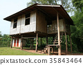 Bamboo Houses, Thailand 35843464