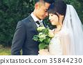 Photo wedding Marriage bride and groom 35844230
