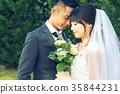 Photo wedding Marriage bride and groom 35844231