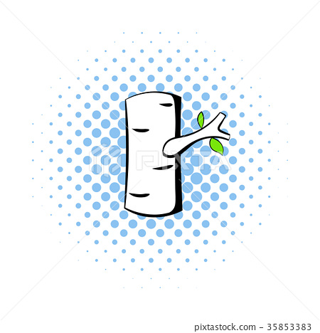 Birch icon in comics style 35853383