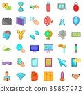 web, marketing, icon 35857972