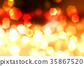 Abstract Bokeh red-fire light background texture. 35867520