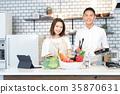 廚房 蔬菜 料理 35870631