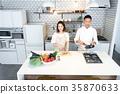 廚房 蔬菜 料理 35870633