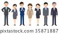직장인, 사원, 회사원 35871887