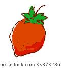 야채 딸기 35873286